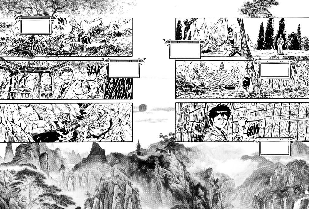 Splash page di Long Wei firmata Luca Genovese