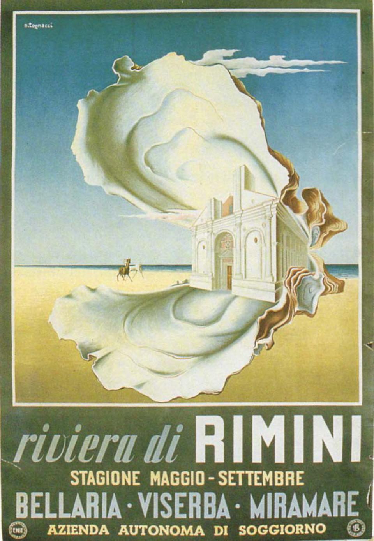 Saluti da Rimini, i manifesti e le cartoline balneari nella ...