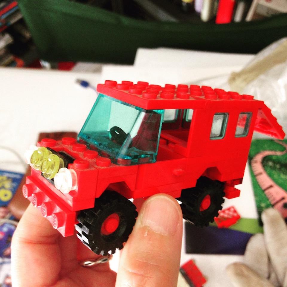 Le mie macchinine LEGO - Una parte di cielo • Il blog di Mabel Morri
